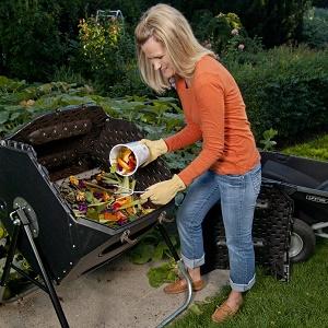 Lifetime 60028 Compost Tumbler
