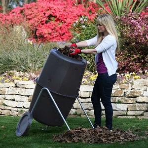 Spin Bin 60 Gallon Compost Tumbler