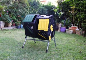 Miracle Gro Dual Chamber Tumbling Composter